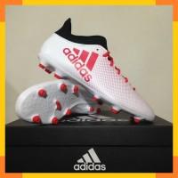 Sepatu Bola Adidas X 17.3 FG White Real Coral CP9192 Original BNIB