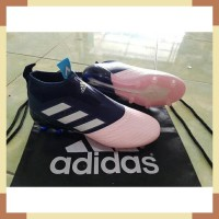 Soccer Adidas ACE17+ PureControl FG - Blue Collegiate/Vapour Pink (1)