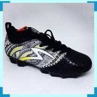 Kicosport sepatu bola specs heritage fg black gold white original new