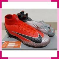 Sepatu Soccer - Nike Mercurial Superfly VI 360 Elite CR7 Crimson