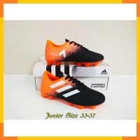 SEPATU BOLA ANAK Junior Adidas ACE II FG (Black Orange) 100% Real Pic