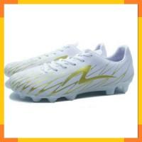 Sepatu Bola Specs Flash 19 FG White Gold