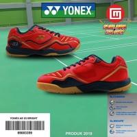 SEPATU YONEX AE 03 BRIGHT RED/DARK VIOLET/MATTE GOLD