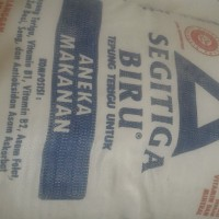Harga 25 Kg Tepung Terigu Segitiga Biru DaftarHarga.Pw