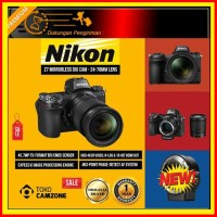 Harga km nikon z7 mirrorless digital camera body only with ftz | Pembandingharga.com