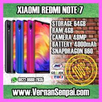 Xiaomi Redmi Note 7 4GB / 64GB bukan Mi 8 9 MI9 MI A2 A3 Note 5 6 Pro