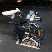 Sepeda Lipat United Trifold 3s Internal Cable 3 Speed mirip brompton M