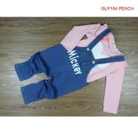 Baju Setelan Anak Cewek   Set Jumpsuit Anak Balita Import