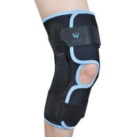 Hinged Knee Support (Hitam) Wellcare