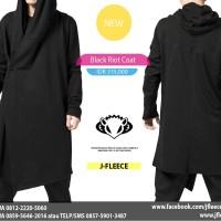 Hoodie Black Riot Coat