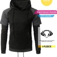 Hoodie Black Falcon
