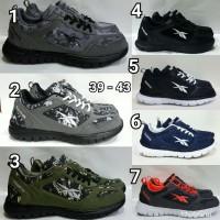 Jual Sepatu Cowok Reebok Running Sneaker Casual Sports Murah