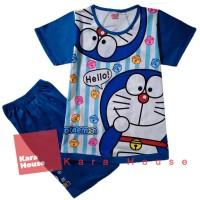 Jual Baju Kaos Atasan T-Shirt Setelan Anak Murah Doraemon DR121117 Murah
