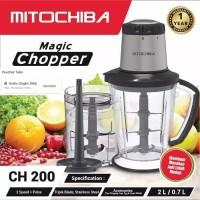 Mitochiba CH 200 Food Chopper Blender Bumbu dan Daging