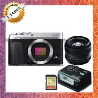 Harga fujifilm xe3 with lensa 35mm f1 4 mirrorless camera fuji x e3 | Pembandingharga.com