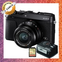 Harga fujifilm xe3 mirrorless camera with lensa 23mm f2 fuji x e3 | Pembandingharga.com