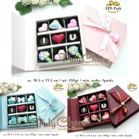 hadiah valentine coklat trulychoco cantik