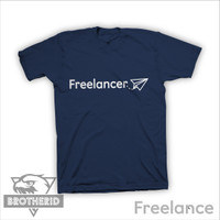 Kaos Anak Freelance Freelancer Navy