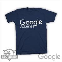 Kaos Google Adsense Simple Baju Adsense