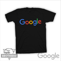 Kaos Google Logo Baju Tulisan Google