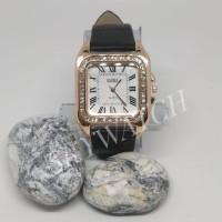 jam tangan wanita KMS 300 HITAM tali latex glitter jam tangan cewe