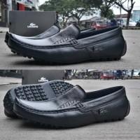 sepatu Lacoste loafers sepatu kerja santai kulit asli berkualitas