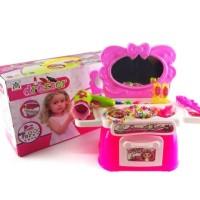 Dresser / Mainan Anak Perempuan Alat Make Up Artis / Salon Beauty Set