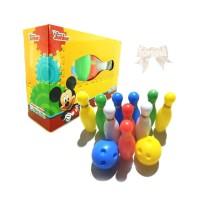 Bowling Set Disney Junior / Mainan Anak Mickey Mouse Club House