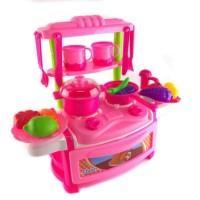 Dream Kitchen Funny Tableware / Mainan Edukasi Anak Peralatan Dapur