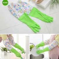 Sarung Tangan Cuci Piring Baju - Sarung Tangan Panjang Bahan Karet