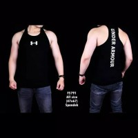 singlet baju kaos pria cowok fashion santai gym fitness distro