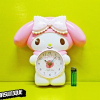 Jam Dinding Body MY MELODY SWING CLOCK 632-2