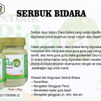 herbal / serbuk bidara