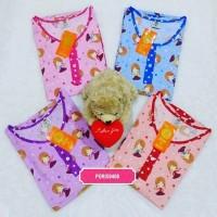 PROMO GROSIR 4 Baju Tidur Wanita Katun Celana Pendek Hoki Sheila