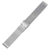 Strap Jam Tangan Milanese Stainless Steel 20mm - Silver