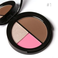Focallure Trio Blush, Higlighter & Countour
