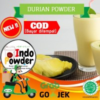 Powder Durian 1Kg / Durian Powder 1Kg / Bubuk Minuman rasa Durian 1kg