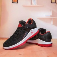 49b31f8d1719 Nike Low Air Jordan 32 XXXII Bred Black Perfect Kick Original PK