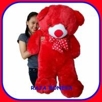 Harga boneka beruang teddy bear 11 meter super jumbo panda merah  b5a6fcc60b