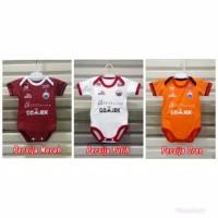 Baju Bayi Bola Jersey Persija Jakarta Jumper Baby Baju Bola Bayi