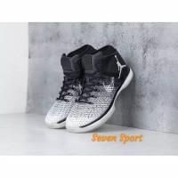 de738a2af2cf Sepatu Nike Air Jordan low 31 XXXI fine Print Black Oreo Perfect kick