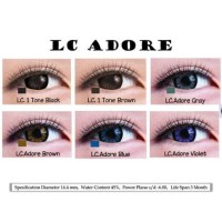 IRATIC GALLERY SOFTLENS LC ADORE GREY 14.4MM