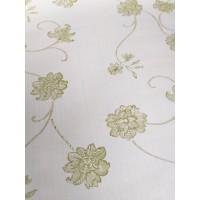 Harga produk terbaru wallpaper batik bunga hijau cream 45cm x 10meter | antitipu.com