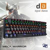 Keyboard Gaming Digital Alliance Meca Warrior TKL Tenkeyless Rainbow E