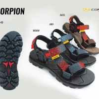 Connec SCORPION Sepatu Sendal Sandal Gunung Hiking Pria Cowok Men