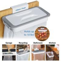 Gantungan kantong sampah Tempat plastik Sampah kain Attach A Trash