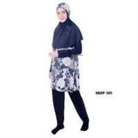 Baju Renang Wanita Muslimah JUMBO XXL dan 4L Dewasa Sulbi-SBDP 385