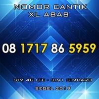 Nomer Cantik XL 08 1717 86 5959