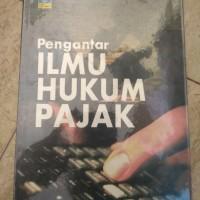 Jual Buku Pengantar ilmu hukum pajak karya R. santoso brotodihardjo Murah