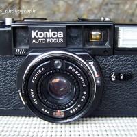 kamera analog - KONICA auto fokus- code B